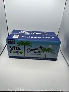Vita Coco Coconut Water, 11.1 fl oz, 16-count