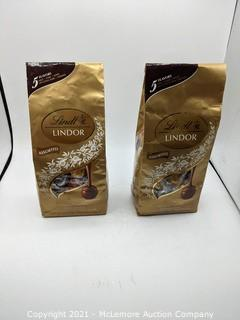 Lindt Lindor Assorted Chcolates 5 Flavors - over 3lbs