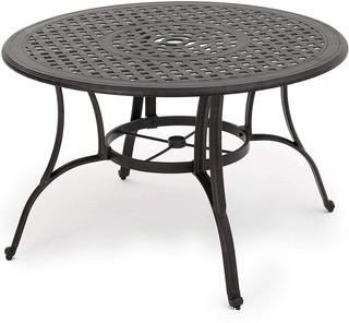 Christopher Knight Home Alfresco Outdoor Cast Aluminum Circular Dining Table.  Bronze - New in Box - MSRP $383.59