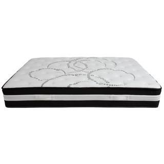 Capri Comfortable Sleep 12-in Queen Pocketed Coil Spring Mattress - New in Box - MSRP $419.98