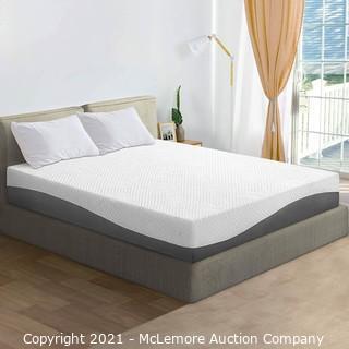 Olee Sleep 10 inch Aquarius Memory Foam Mattress - Queen - New in Box - MSRP $279.80