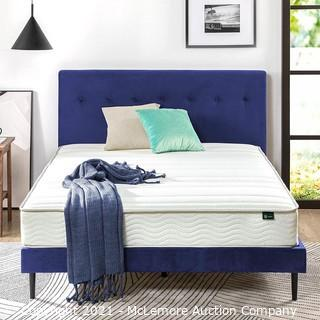 Zinus 8 Inch Foam and Spring Mattress / CertiPUR-US Certified Foams / Mattress-in-a-Box.  Queen - New in Box - MSRP $275