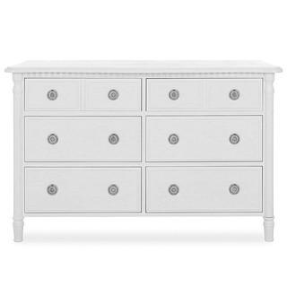 Evolur Julienne 6 Double Dresser.  Toffee and Brush White - New in Box - MSRP $999
