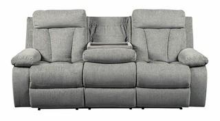 Mitchiner Fog Reclining Sofa w/ Drop Down Table - Signature by Ashley Furniture - MSRP $949.99