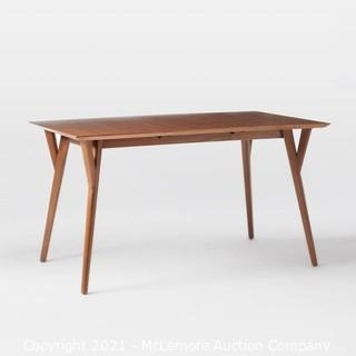 West Elm Mid-Century Expandable Dining Table (SEE PICTURES) - MSRP $900