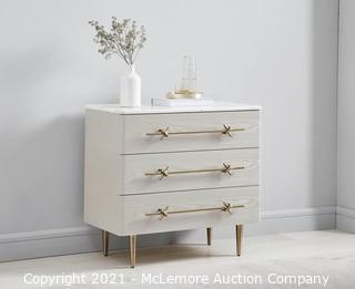 West Elm Debra Folz 3-Drawer Dresser - (SEE PICTURES) - MSRP $999