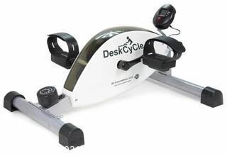 DeskCycle TT-DSC Desk Bike Pedal Exerciser - White