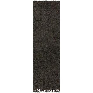 """Wayfair Basics� Shag Charcoal Area Rug - RUNNER - Brand New - Rug Size: Runner 2' x 6'7"""""""