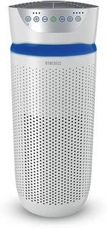 HoMedics TotalClean Tower Air Purifier for Viruses.  Bacteria.  Allergens.  Dust.  Germs.  HEPA Filter.  UV-C Technology.  5-in-1 Purifying with Ionizer.  Carbon Odor Filter for Large Rooms.  Home Office. White
