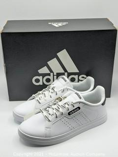 New in Box- Adidas Women's Courtpoint Base Tennis Shoes Athletic Sneaker White - Size 7.5