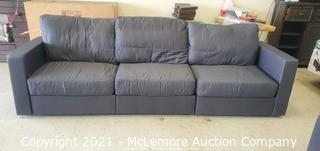 High-End Modern Modular Base Couch - Changeable.  Rearrangable & The Worlds Most Accomadatable Couch - Slipcover Not Included