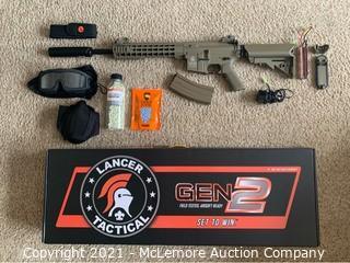 Lancer Tactical LT-19 Gen 2 M4 w/ Extras - Parts Unverified