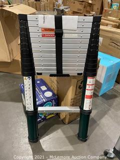 Toolitin 15.5FT Telescoping Ladder-Green