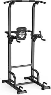 Sportsroyals Power Tower Dip Station Pull Up Bar for Home Gym Strength Training Workout Equipment.  400LBS.