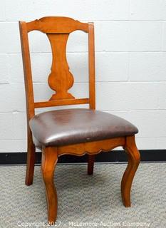 Wooden Upholstered Chair