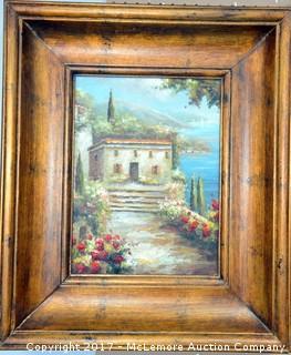 Framed Art - Oil on Canvas