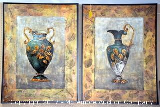 Set of 2 Framed Art