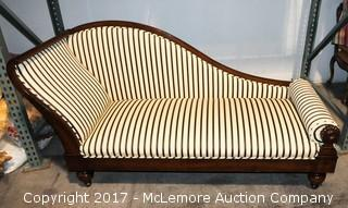 Antique Reproduction Chaise by Lewis Mittman