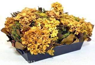 Centerpiece with Dried Flowers