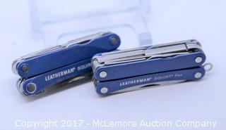 Leatherman Squire PS4 (Set of 2) (Blue)