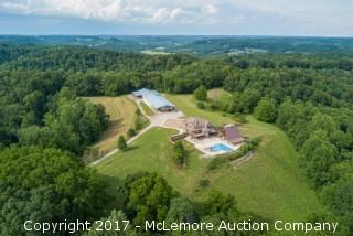 Premier Home, Collector's Garage, Storage Building, Pool, Pavilion and Tack Room on 57± Acres