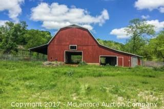 Barn and Excellent Building Site on 22± Acres