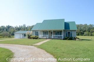 5 Bedroom 3 Bathroom Single Family Home on 8± Acres