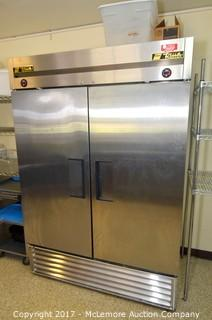 True T-49DT Two Section Dual Temp Reach In Combination Refrigerator/Freezer