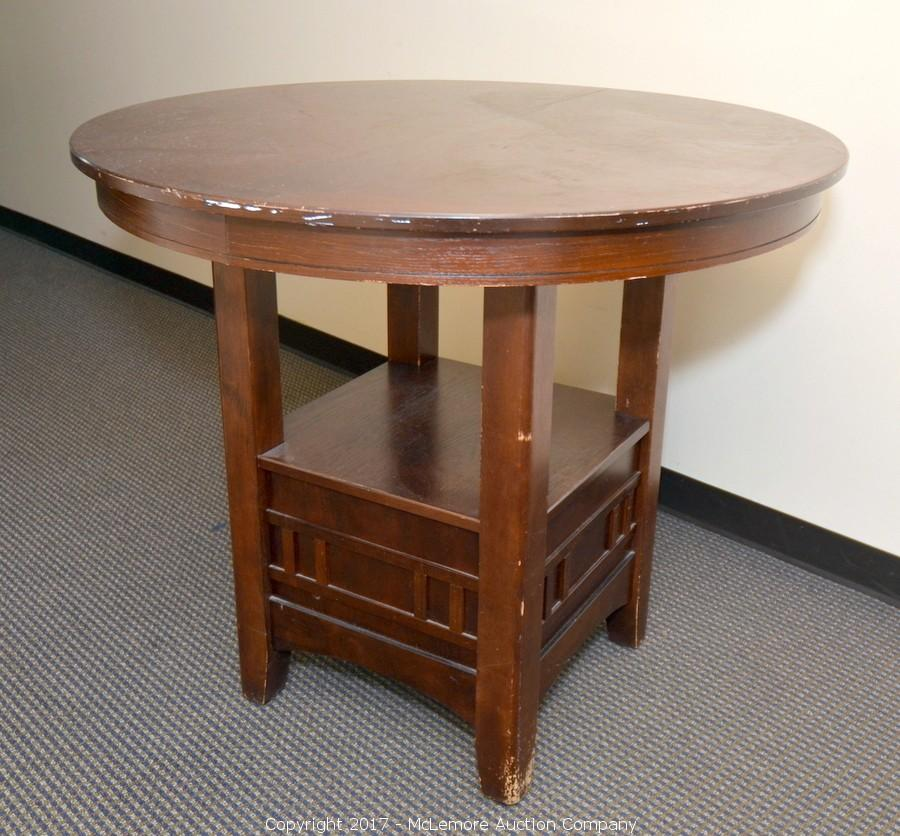 Round High Top Table