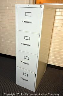 Hon Four-Drawer Filing Cabinet