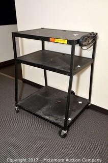 TV Cart on Casters