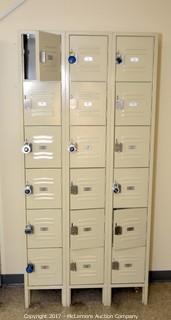 Republic Storage Systems Co. 18 Compartment Locker