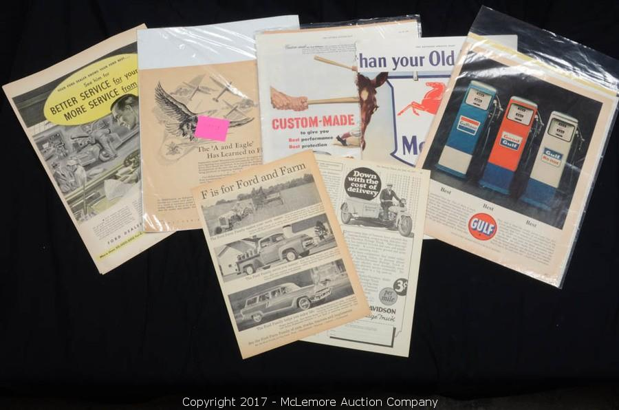 Mclemore Auction Company Auction Massive Collection Of Sports