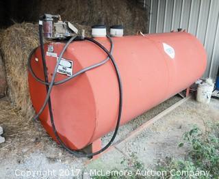 Diesel Fuel Tank on Skids with Gasboy Electric Pump