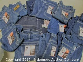 Lot of 19 New Pointer Brand Men's Jeans