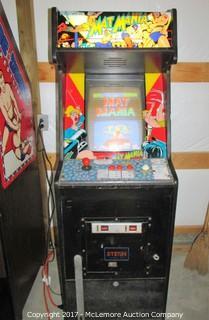 Vintage Arcade Game Mat Mania - WORKS