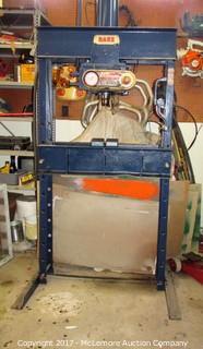 DAKE 50 Ton Press Air-Hydraulic 6-250