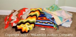 Assortment of Crochet Blankets