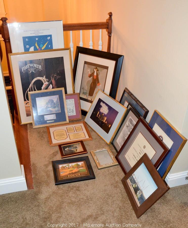 Mclemore Auction Company Auction Furniture Art Decor Other