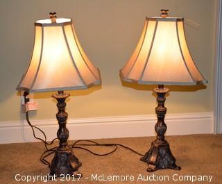 Pair of Decorative Lamps