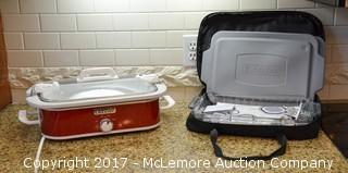 Electric Crock Pot & Casserole Dish Carrying Case