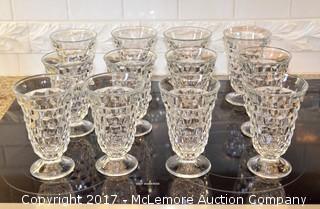 (14) Piece Set of Fostoria Glassware