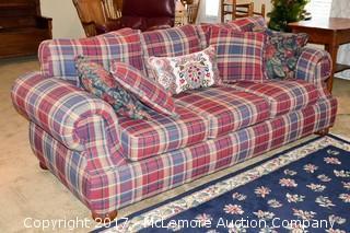 Sofa & Pillows