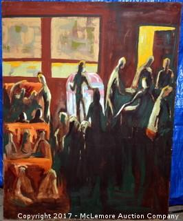 Painting of Elliston Soda Shop