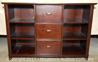 Bookcase and Filing Cabinet Combo by Havertys