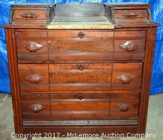 Antique Vanity with Knapp Joints