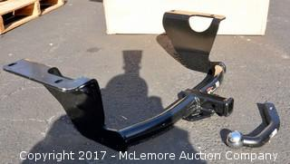 """Curt 121362 Class 2 Trailer Hitch and 2"""" Ball Mount"""