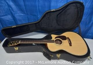 W. Todd & Co. Acoustic Guitar and Case