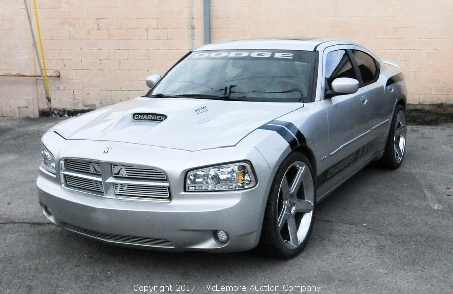 Mclemore Auction Company Auction 2006 Dodge Charger Rt Daytona