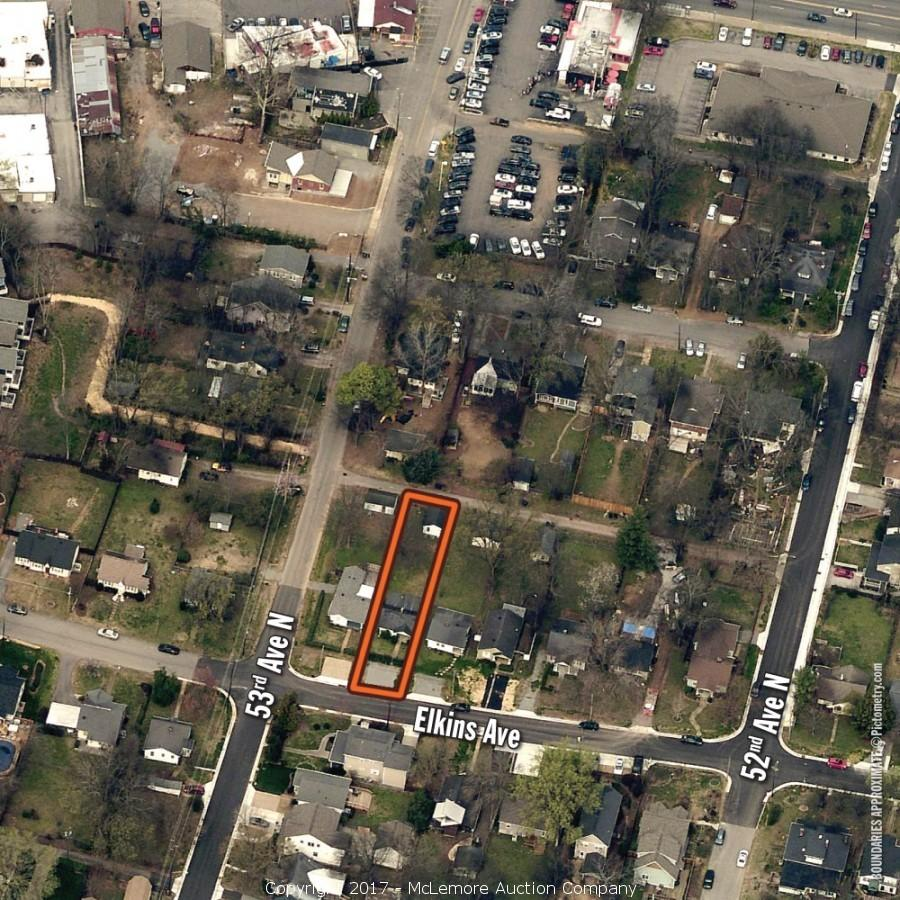 828± sf Single Family Home on .13± Acres Located at 5212 Elkins Ave, Nashville, TN 37209